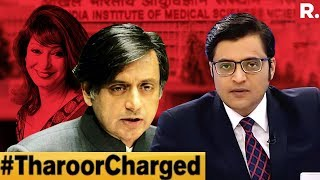 Download #TharoorCharged For Abetment, Cruelty | The Debate With Arnab Goswami Video