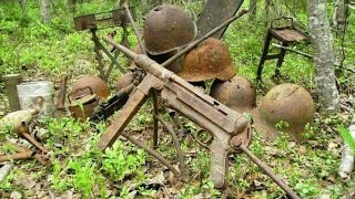 Download WWII guns found near German bunker WW2 Metal Detecting Video