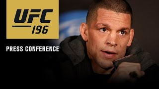 Download UFC 196: Post-fight Press Conference Video