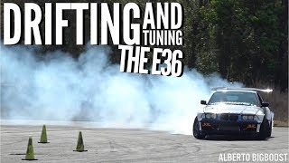 Download TUNING THE E36 WHILE DRIFTING! Video