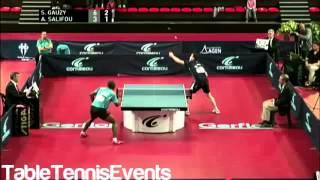 Download Simon Gauzy Vs Abdel-Kader Salifou: Final [France Championship 2013] Video