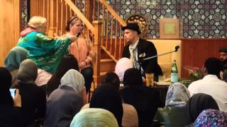 Download Amber takes Shahada at Taleef with Usama Canon Video