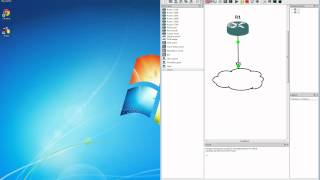 Download GNS3 Tutorial - Connecting GNS3 Routers to the Internet in Windows 7 Video