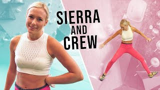 Download Sierra And Climbing Crew Take Over London Gym Video