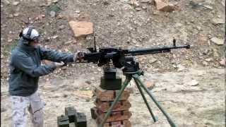 Download Shooting a DShK Heavy Machine Gun Video