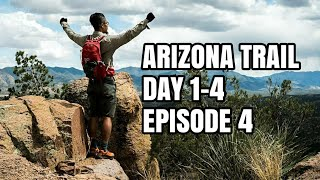 Download Arizona Trail Day 1-4, Struggling! Bikepacking and Thru-Hiking ADVENTURE EPISODE 4 Video