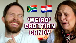 Download South Africans try Croatian Candy! Video