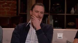Download Talking Dead - Joshua Mikel (Savior Jared) on his last day on set Video