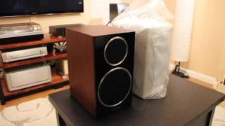 Download Wharfedale Diamond 225 Bookshelf Speakers Unboxing Video