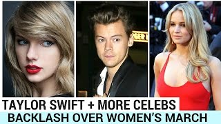 Download Taylor Swift + More Celebs Face Backlash Over Women's March Video