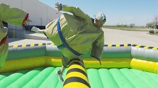 Download Giant Sumo Battle | Dude Perfect Video