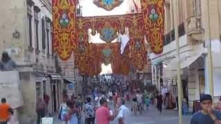 Download REPUBLIC STREET in VALLETTA - MALTA Video