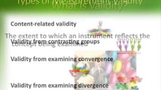 Download Chapter 13 Reliability and Validity Video
