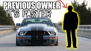 Download I Let the Previous Owner Drive my 900hp GT500 (NOT STOCK ANYMORE) Video