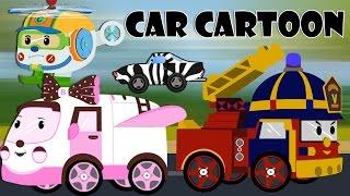Download car cartoons for children - Police car cartoon - Fire trucks for children kids - Cartoons for kids Video