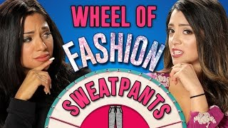 Download HOW TO STYLE SWEATPANTS | Wheel Of Fashion w/ Niki and Gabi Video
