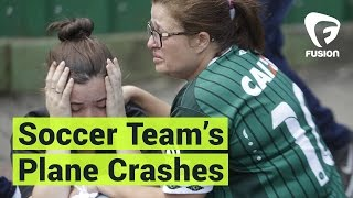 Download Brazilian Soccer Team Chapecoense Plane Crashes Video
