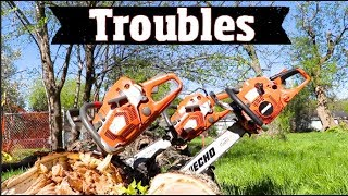 Download Chainsaw Trouble - I took Stihl & Husqvarna Chainsaws from a Tree company for 30 days Video