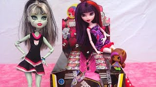 Download Monster High Mystery Minis ! Toys and Dolls Fun Opening Surprise Blind Bag Boxes Video