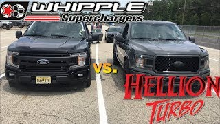 Download I Raced a Hellion 2019 F-150 @The Coyote Shootout with my Whipple 2018 F-150 Video