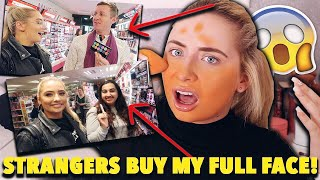 Download i let STRANGERS BUY my FULL FACE!! 😱Applying a full face of makeup strangers picked me!! 😭😱 Video