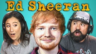 Download ADULTS REACT TO ED SHEERAN Video