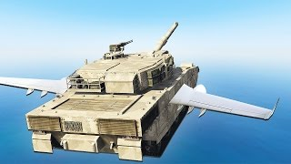 Download HOW TO FLY A TANK! (GTA 5 Challenge) Video