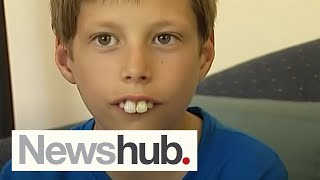 Download Boy bullied for buck teeth gets new smile after donations pour in | Newshub Video