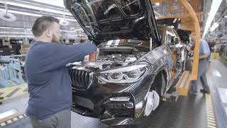 Download 2019 BMW X4 Production Video