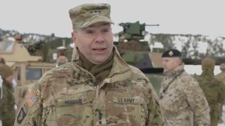Download U.S. Army Europe at Norway's Cold Response 16 Video