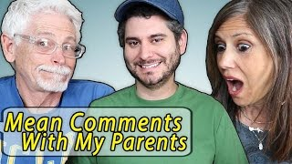 Download Reading Mean Comments with my Parents Video