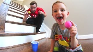 Download FATHER SON PING PONG TRICK SHOTS! Video