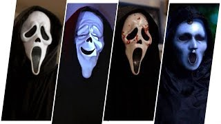 Download Ghostface Evolution in Movies, TV & Cartoons (Scream) Video