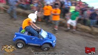 Download MOST INSANE REDNECK BARBIE JEEP RACING EVER!! Video