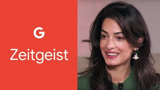 Download Amal Clooney & Eric Schmidt - Leaders Of Our Time Video