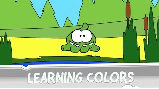 Download Learning Colors with Om Nom - Sandy Dam Video