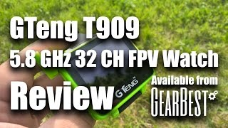 Download GTeng T909 5.8 FPV Watch Review, Range Test and Modding Info Video