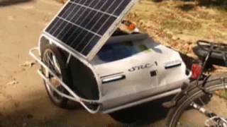 Download Ebike Trailer With PV Range Extender / SRE-1 / Double Your Range Video