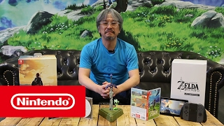 Download The Legend of Zelda: Breath of the Wild - Limited Edition - Mr Aonuma unboxing Video