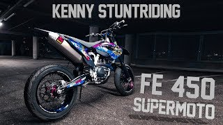 Download Kenny Stuntriding - Supermoto Nightride (4K) Video