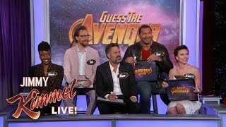 Download The Cast of Infinity War Plays 'Guess the Avenger' Video