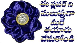 Download Creative Beautiful Fabric Flower For Dress and Frocks || DIY Tips || Part 171 Video