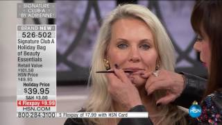 Download HSN | Signature Club A By Adrienne Holiday Beauty 12.03.2016 - 02 PM Video