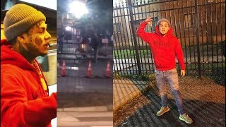 Download 6ix9ine Goes To O-Block & Goons Rush Outside Once They Got Word Video