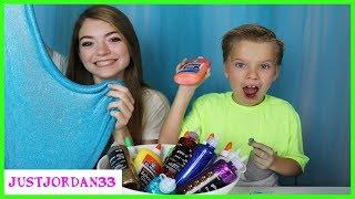 Download 3 Color Glue Slime Challenge / JustJordan33 Video