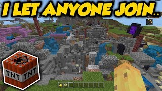 Download I Set My Minecraft Realm To Public For A Week & This Happened Video