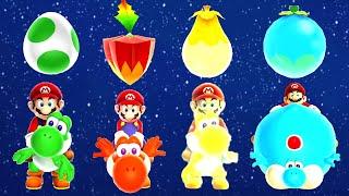Download Super Mario Galaxy 2 - All Yoshi Power-Ups Video