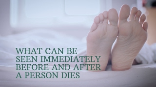 Download What can be seen immediately before and after a person dies Video
