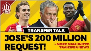 Download Mourinho's 200 Million Manchester United Transfer Request! MAN UTD Transfer News Video