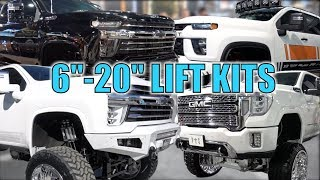 Download CHECKING OUT ALL THE NEW LIFTED 2020 GM TRUCK OPTIONS AT SEMA! Video